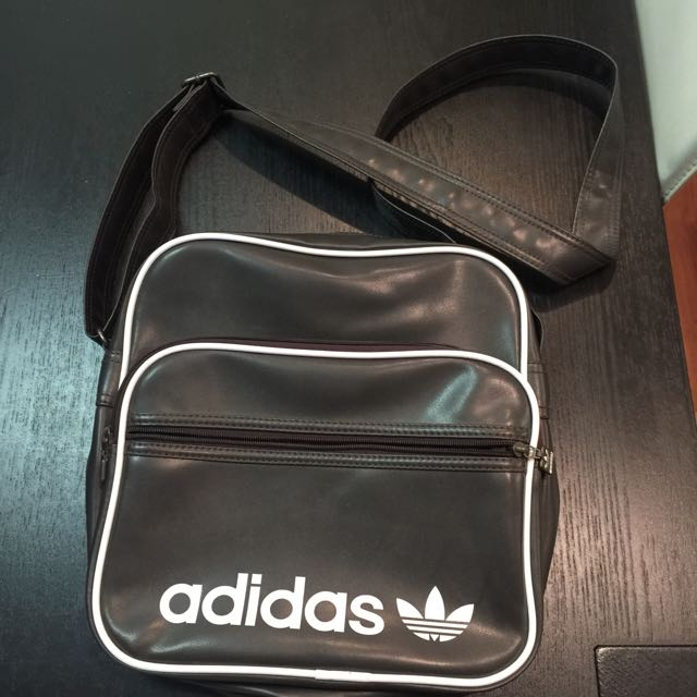 Adidas brown shoulder bag