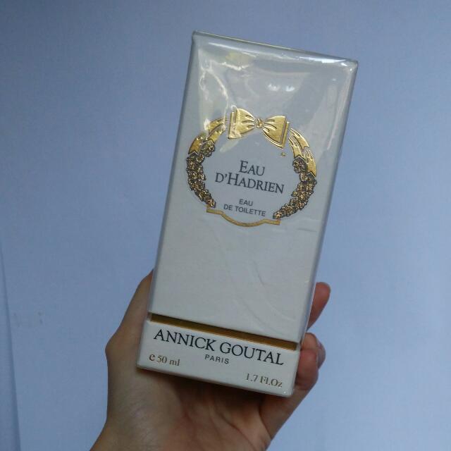 Annick Goutal Eau D'Hadrien Eau De Parfum 50ml Brand New Sealed In Box With Pouch