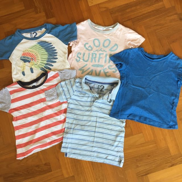 Assorted Boys Tshirts - 2-3 Yr Olds