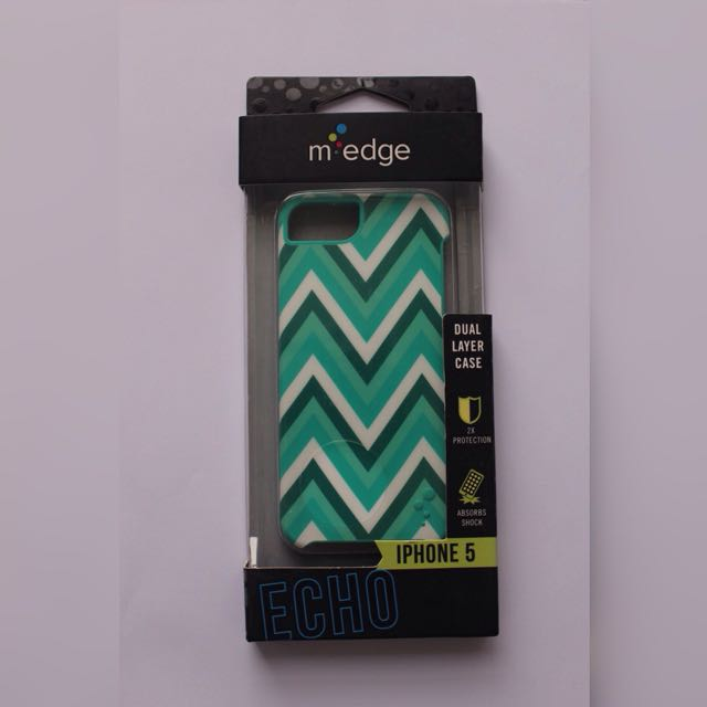 Authentic M Edge Dual Layer Case iPhone 5 5s SE
