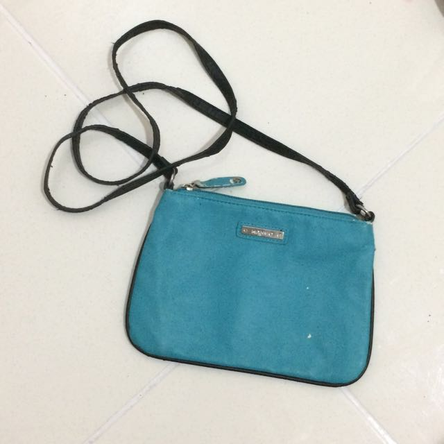 Authentic MANGO Blue Sling Bag
