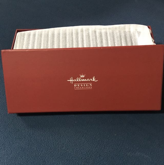 BNIB Leather Hallmark Design watch box