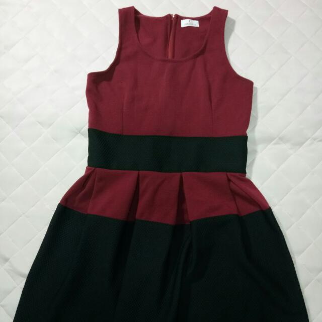 Cinderella's Red & Black Freesize Dress