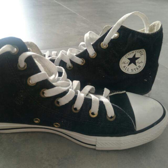 Converse High Cut Sneakers (adidas NMD