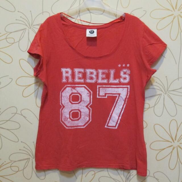 Cotton On Red Tshirt