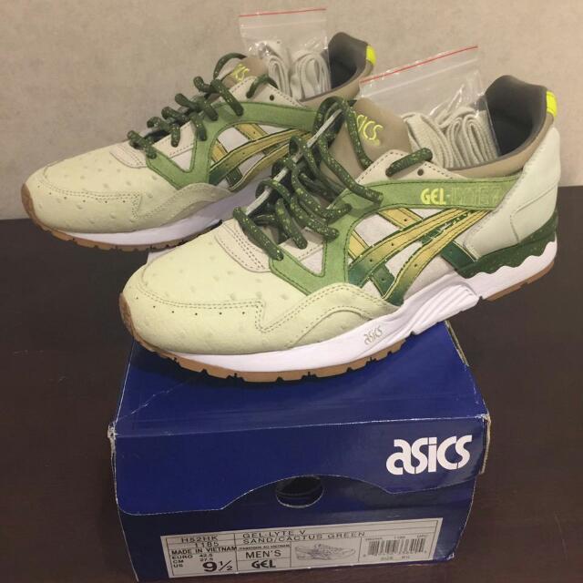 Feature x Asics Gel Lyte V  Prickly Pear  US 9.5 BNIB d3da95dd8