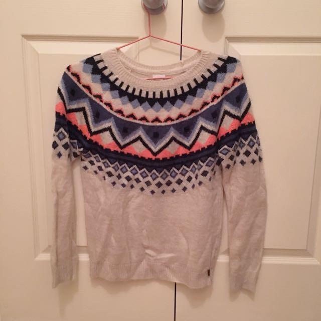Garage Pattern Sweater