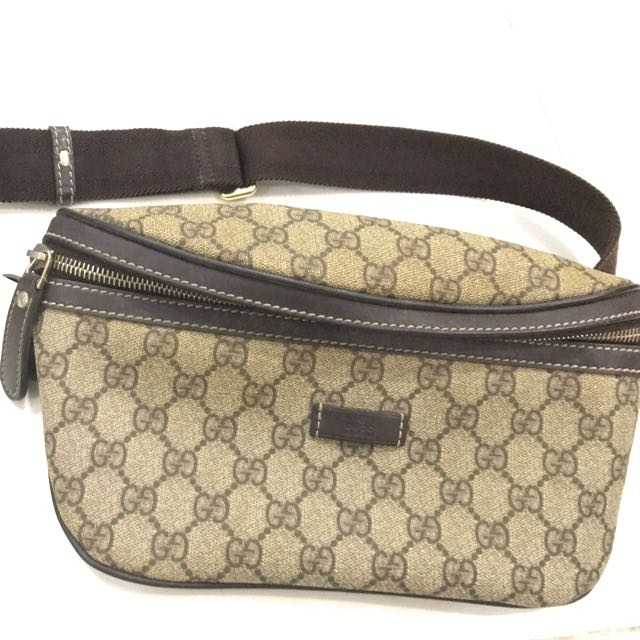 dac881eaedcf Gucci Chest/waist Sling Bag (Authentic), Luxury, Bags & Wallets on ...