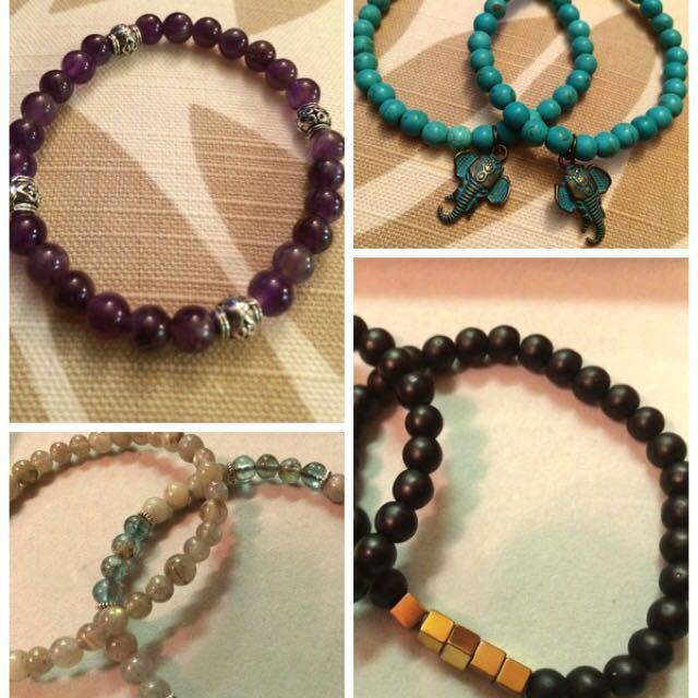 Healing Stone Bracelets