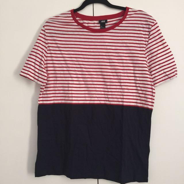 H&M Shirt Size L BNWT