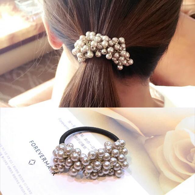 Hair Tie Korean Pearl