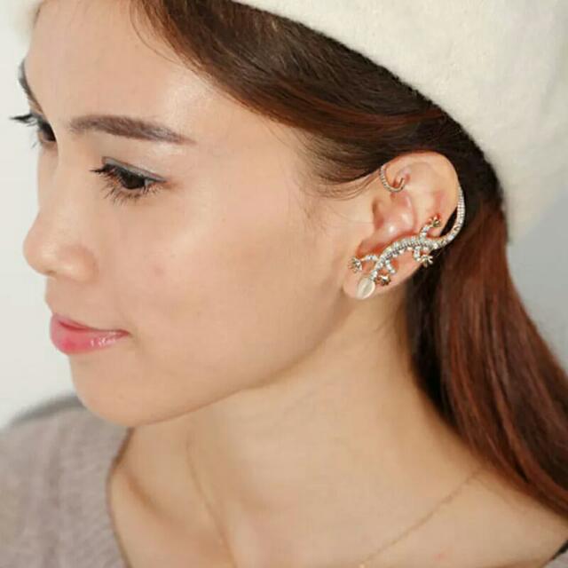 Earring Korean Lizard