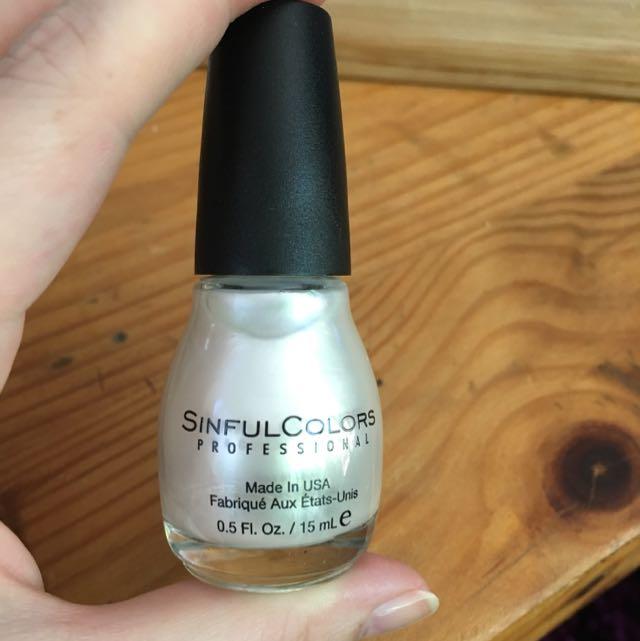 Kylie Nail Colour Silver
