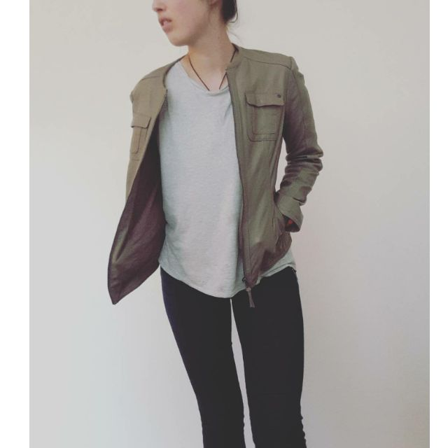 Leather Jacket s.Oliver Real Leather