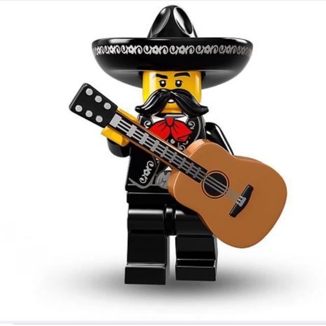 Lego Series 16 Mariachi Guy Minifigure
