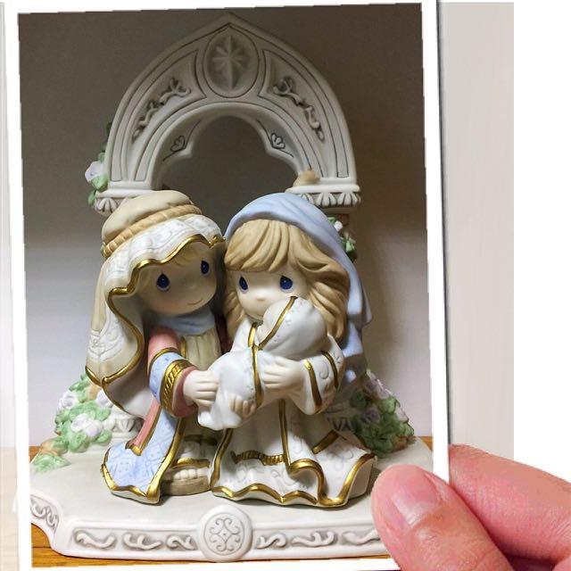 Precious Moments Holy Family Nativity Figurine Set