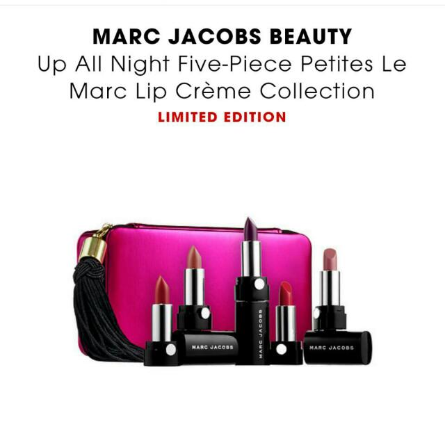 Marc Jacobs唇膏組