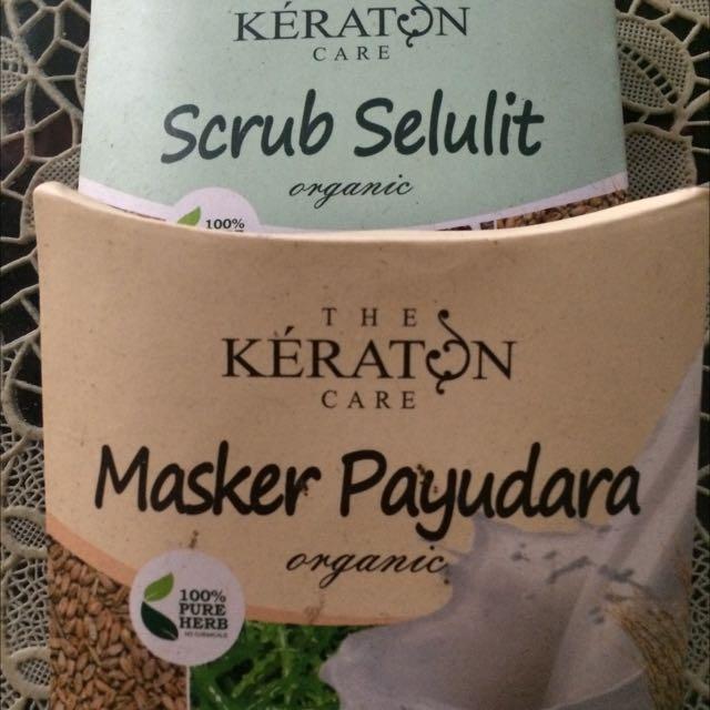 Masker Keraton Care