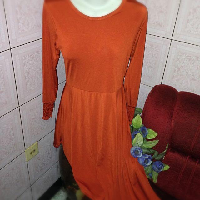 Maxi Asimetris Beach dress