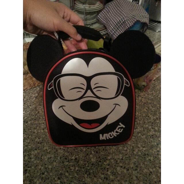 Mickey mouse lunch bag