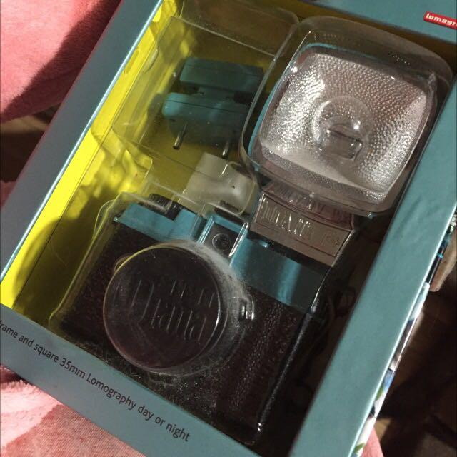 Mini Diana Flash Camera