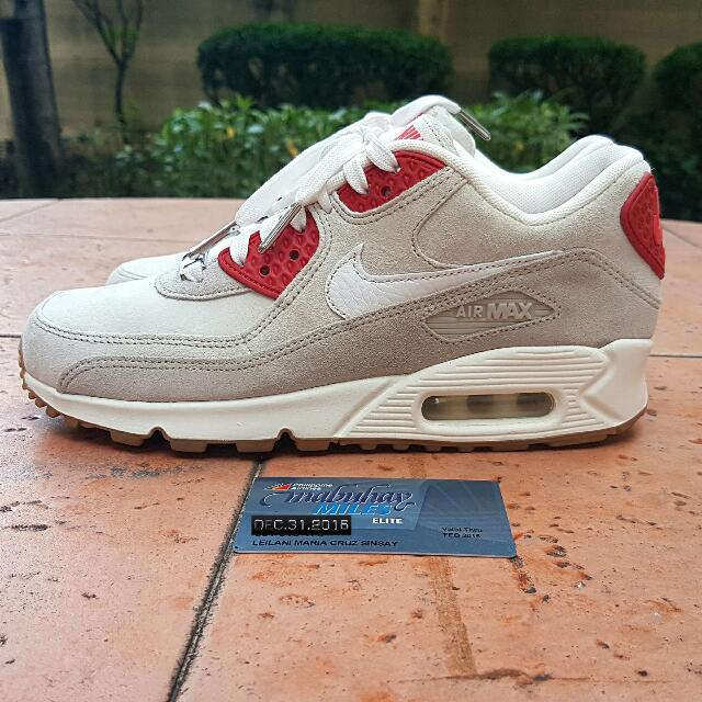 """Nike Air Max 90 2016 city Collection NYC """"Strawberry Cheesecake"""" US6.5 Womens"""