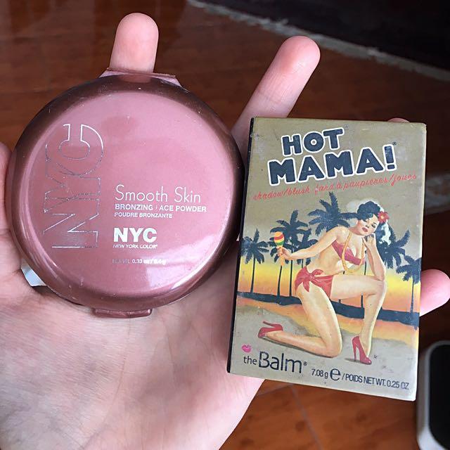 NYC Bronzer + The Balm Highlighter / Blush