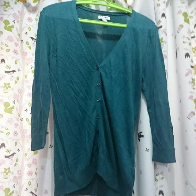 OLD NAVY - Teal Color Cardigan