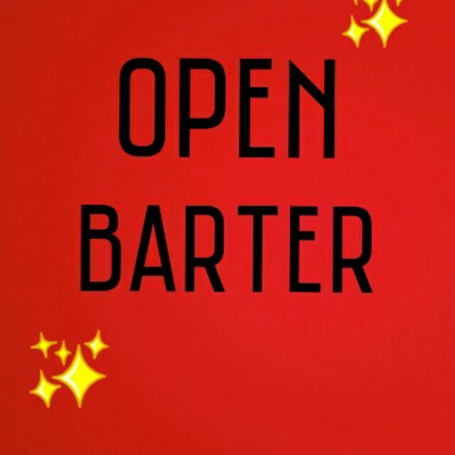 Open Barter Barang Preloved