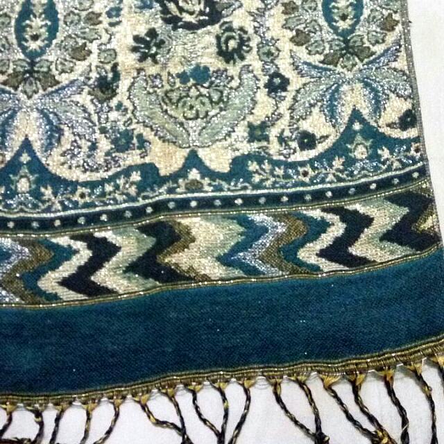 Pashmina Mekkah Tosca-Gold