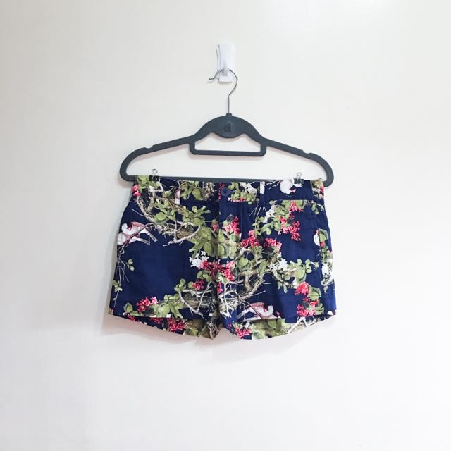 Peppermint Printed Shorts