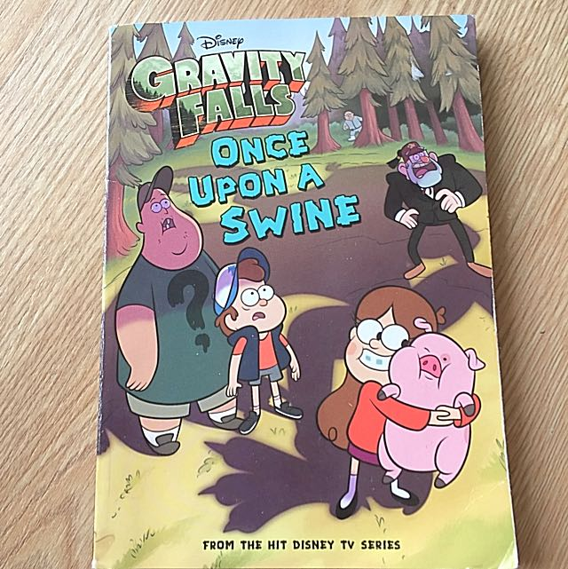Preloved Gravity Falls Once Upon A Swine Book Books Stationery Childrens On Carousell