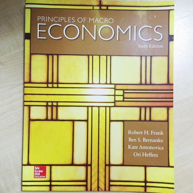 Principles of Macroeconomics (6th Edition)