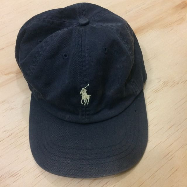 RALPH LAUREN LEATHER STRAP CAP