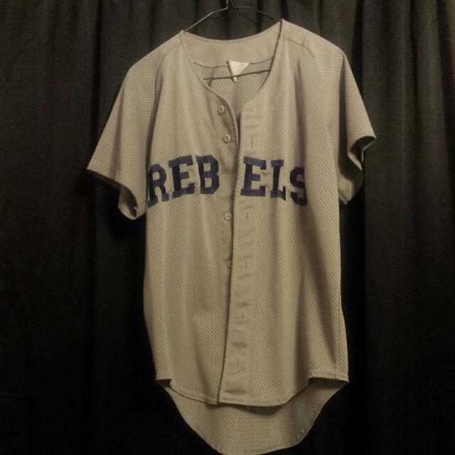 Rebel Baseball Jersey