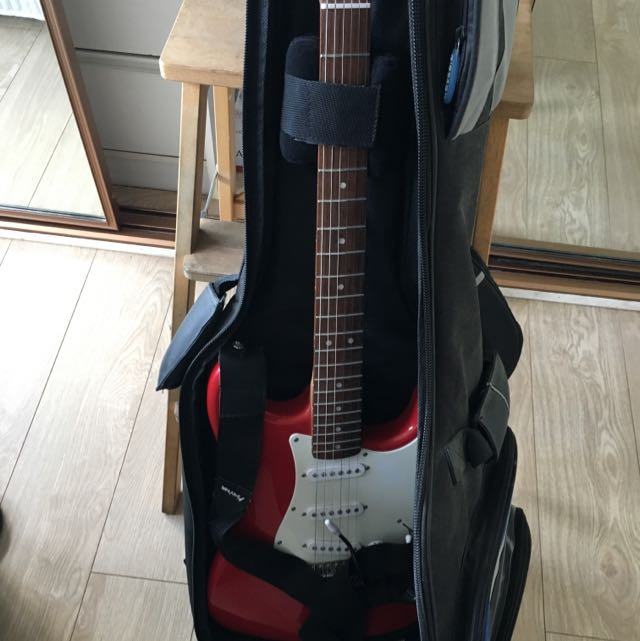 Red Squirex Guitar