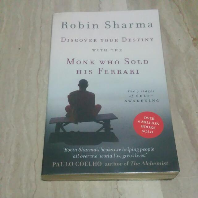 Robin Sharma Discover Your Destiny With The Monk Who Sold His