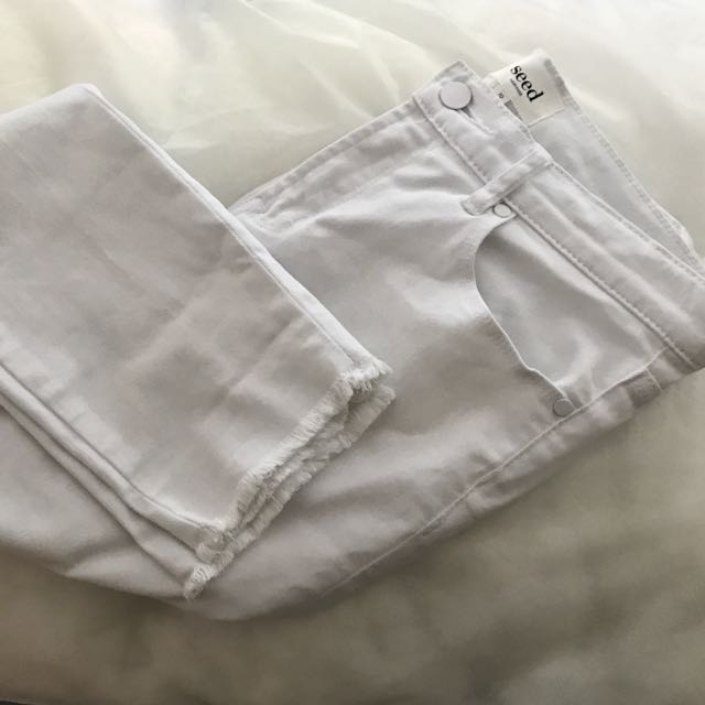 Seed White Jeans