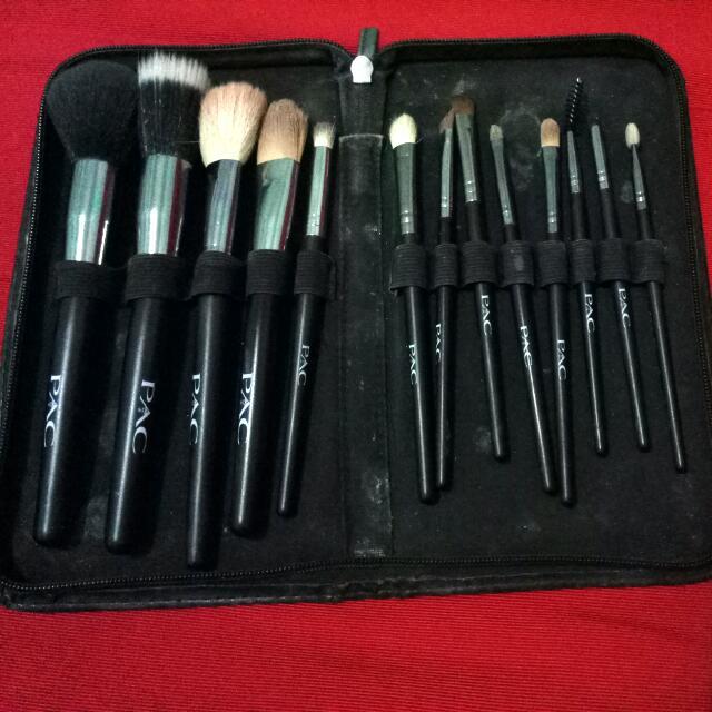 Set Kuas Makeup PAC Asli