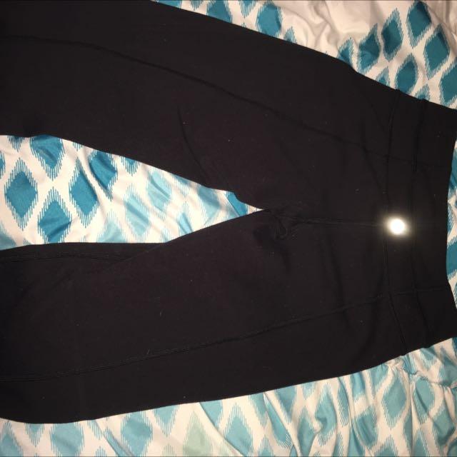 Size 2 Lulu Lemon Pants