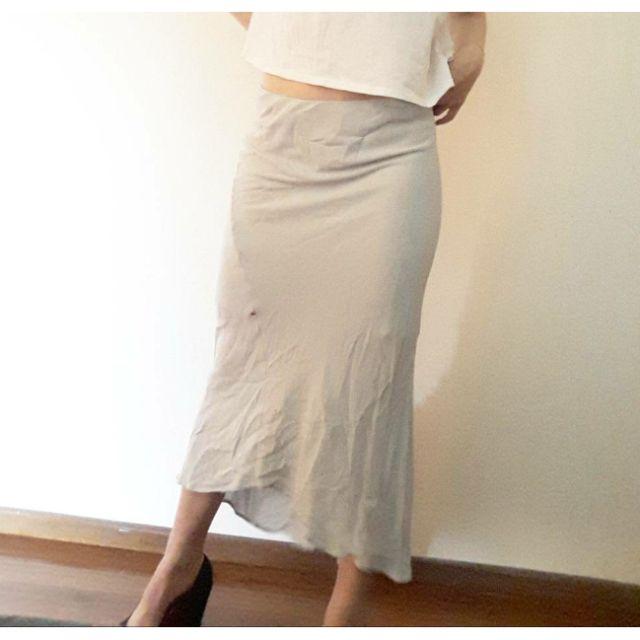 Skirt Long James Perse GREY