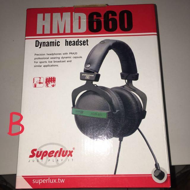 Superlux Hmd660