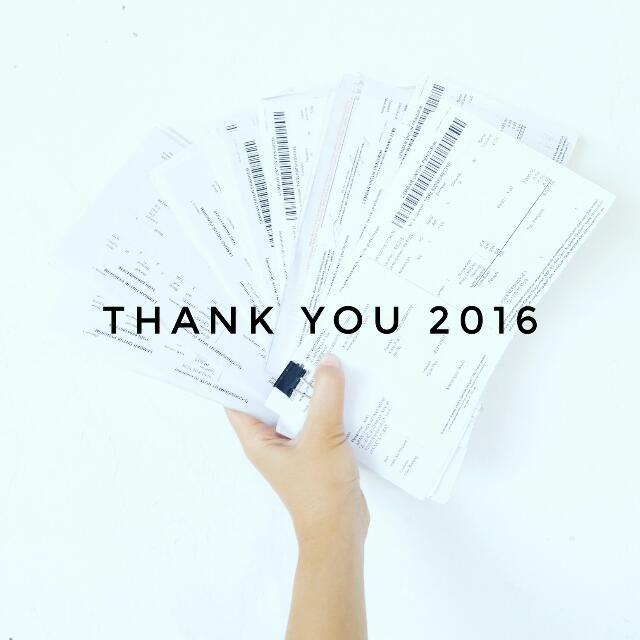 Thank You 2016