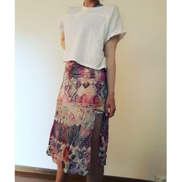 Three Dots Long Skirt Indie pattern