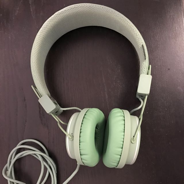 Urbanears Plattan in Mint Green