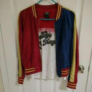 Harley Quinn SS Jacket + Shirt