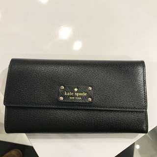 [Authentic] Black Kate Spade wallet