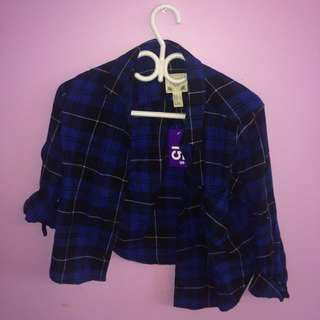 2 Cropped Flannels