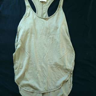 Olive Green Tank - Size: M