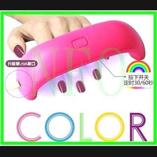 粉色光療機-9W-LED